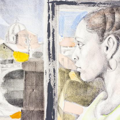 Immagine di Riflessi sulla finestra