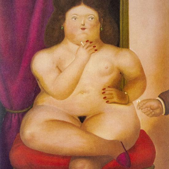 Immagine di Donna che fuma