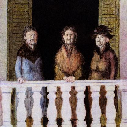 Immagine di Sul balcone