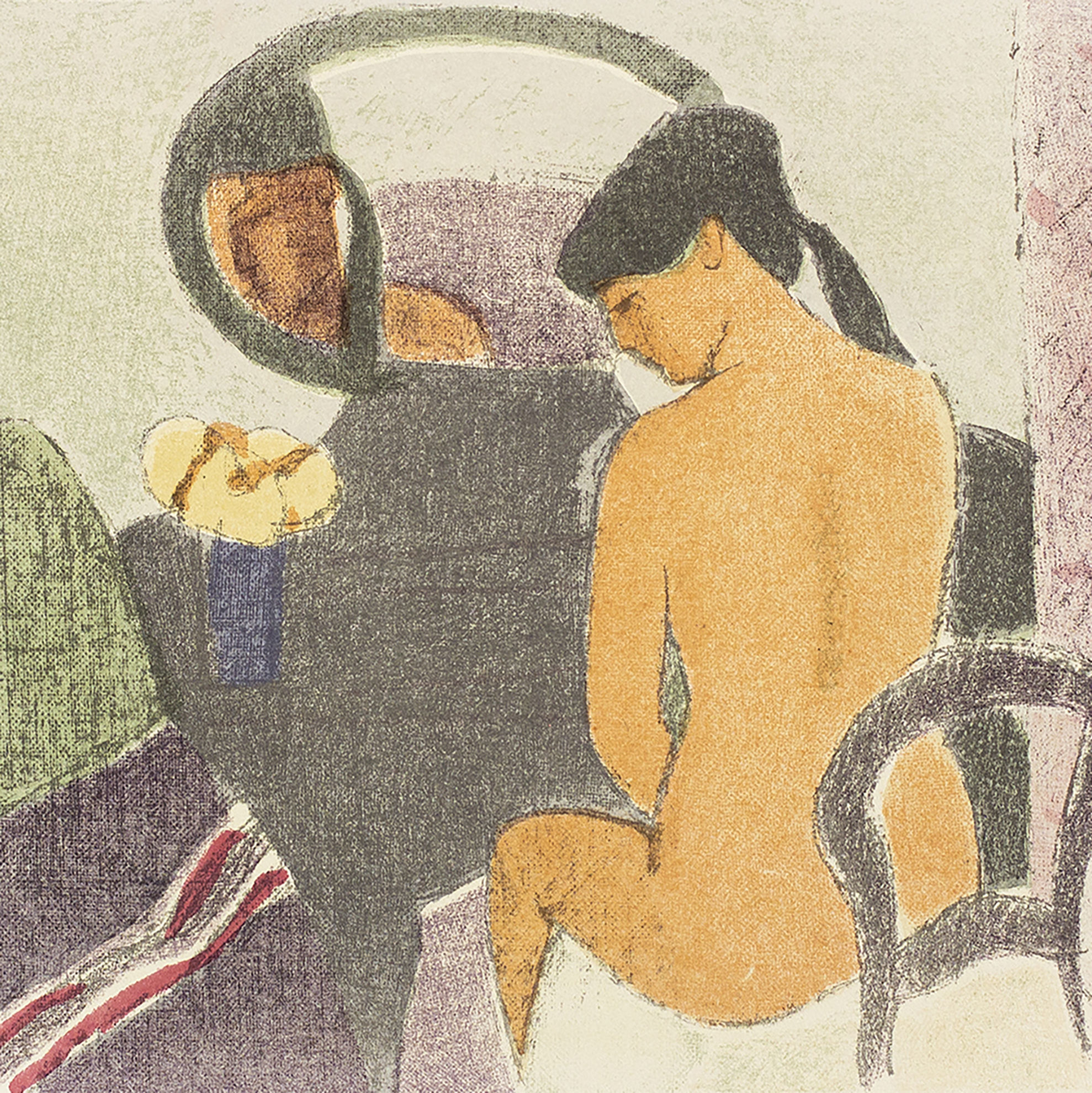 Immagine di Donna allo specchio
