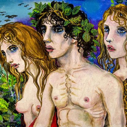 Immagine di Dioniso e le Baccanti