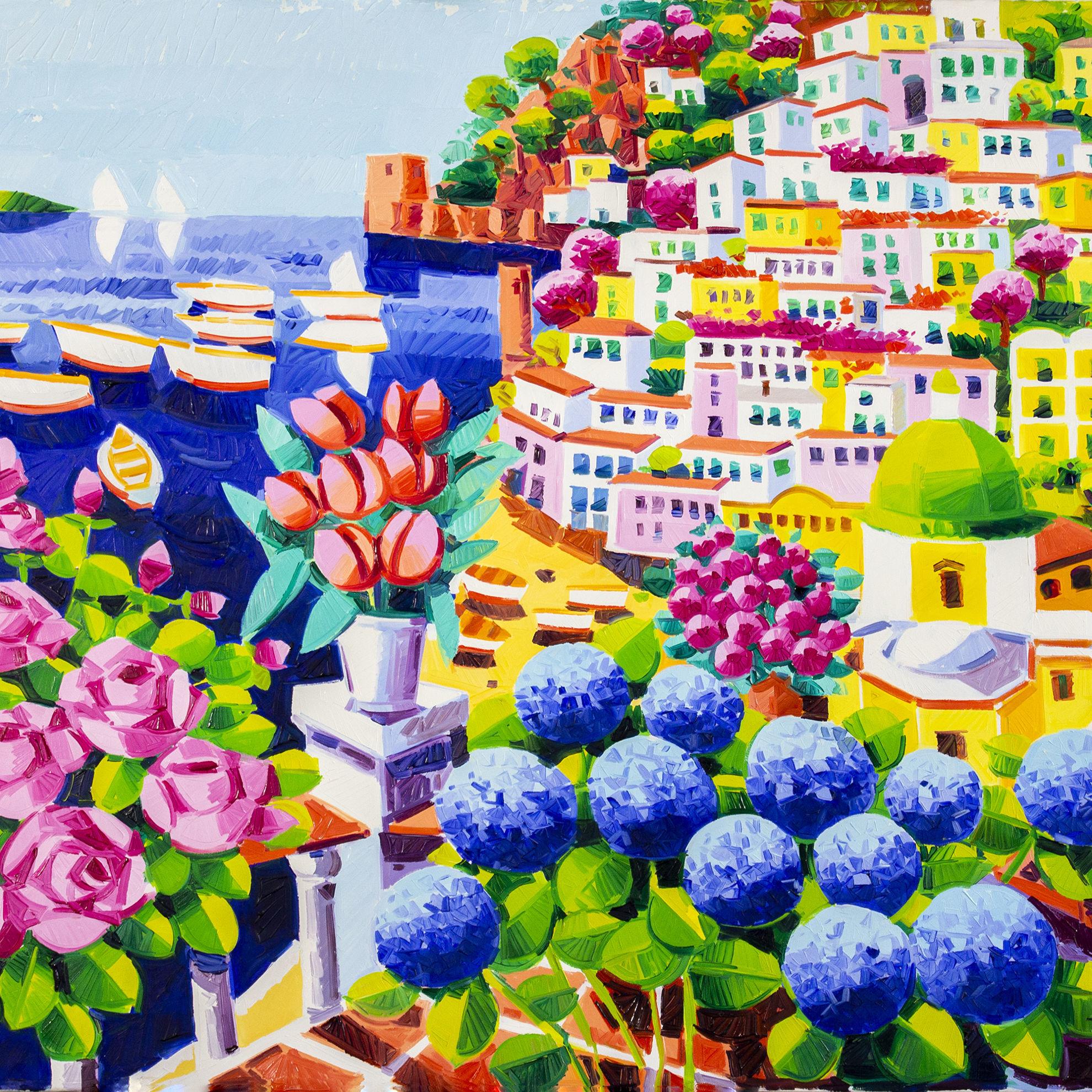 Immagine di Sogno tra i fiori di Positano