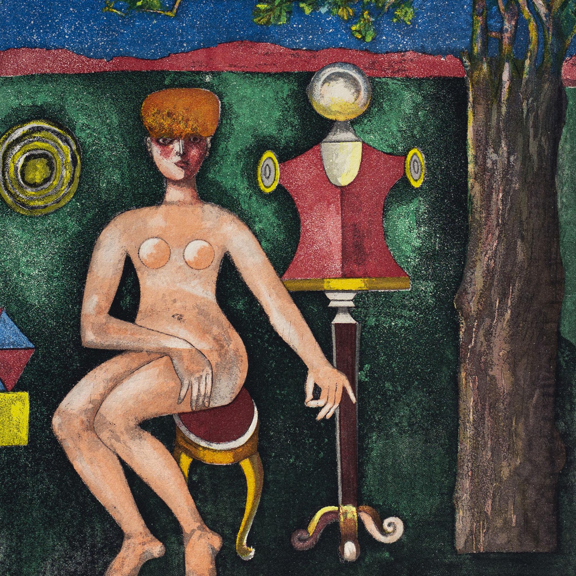 Immagine di Nudo in giardino