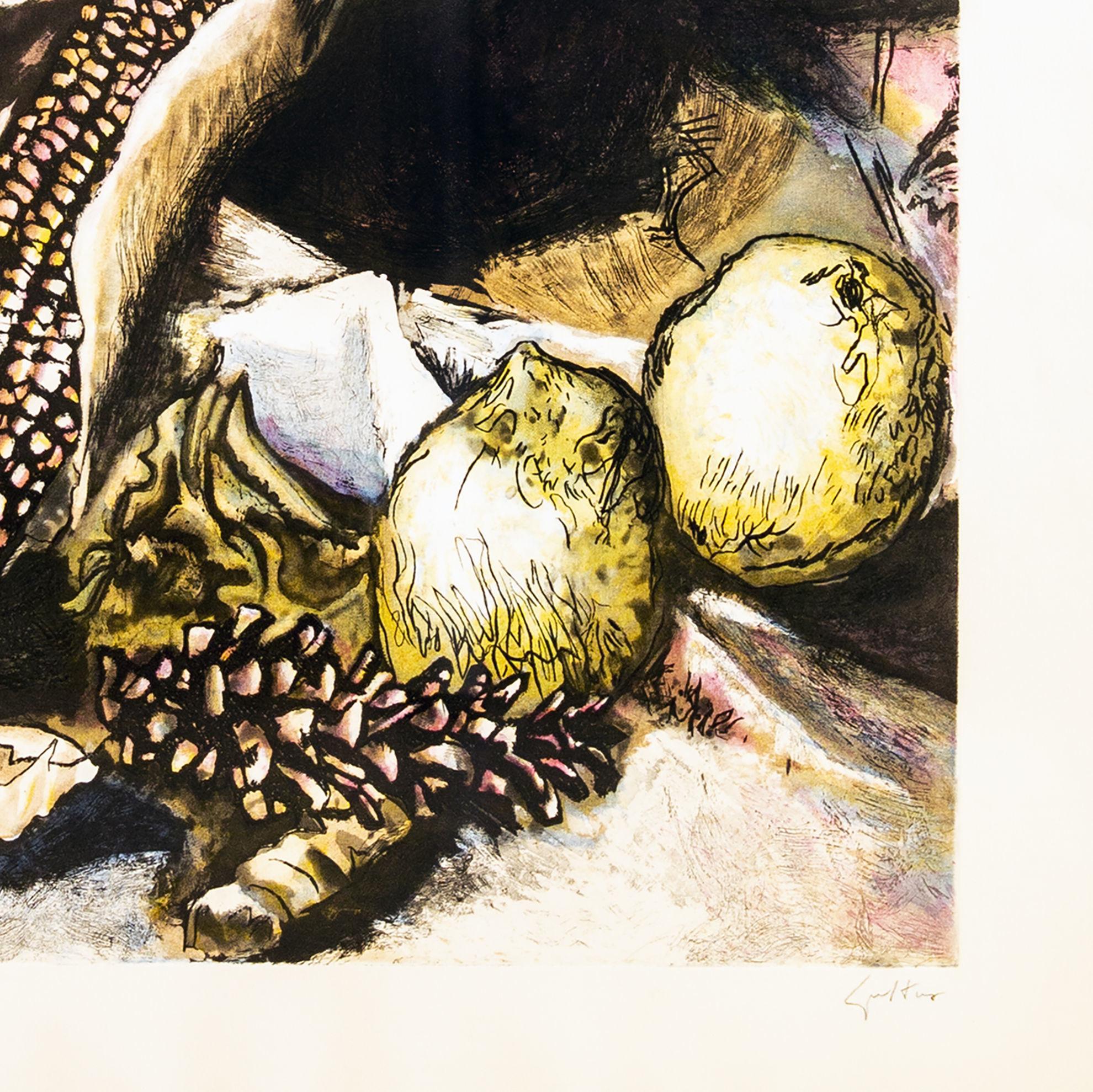 Immagine di Pannocchia con limoni