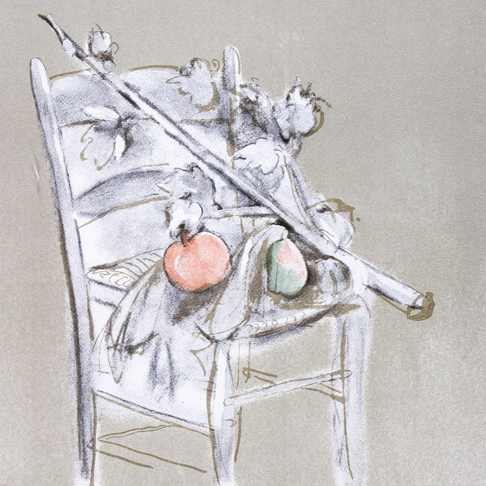 Immagine di Natura morta su sedia
