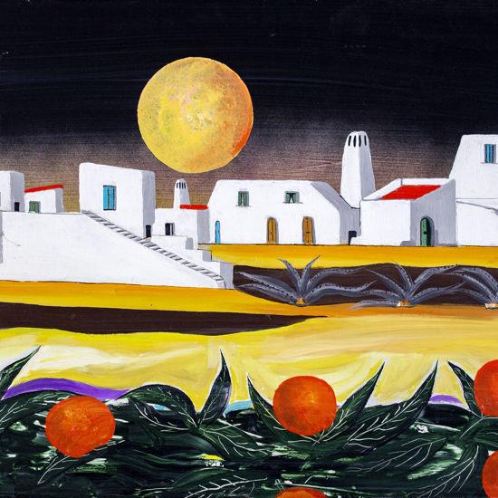 Immagine di Paesaggio con arance
