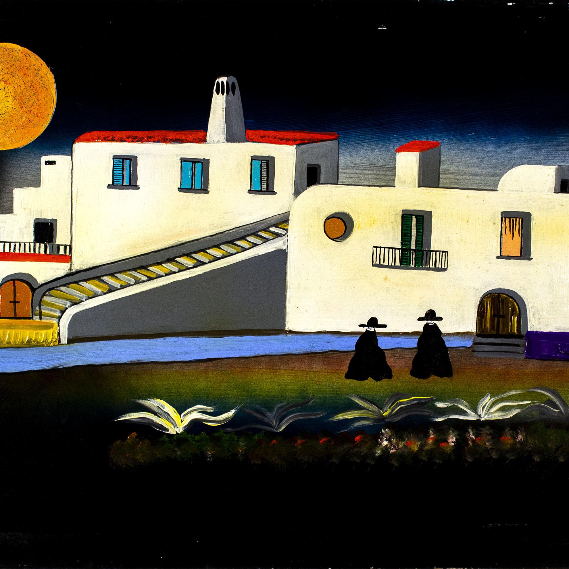 Immagine di Paesaggio con pretini