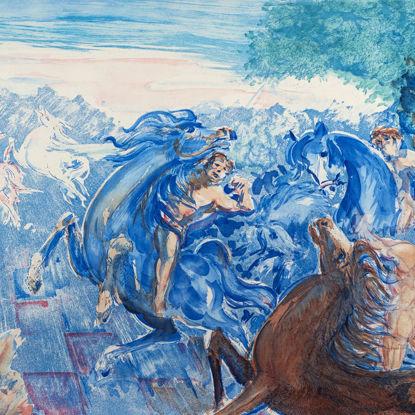 Immagine di Battaglia di tre cavalieri