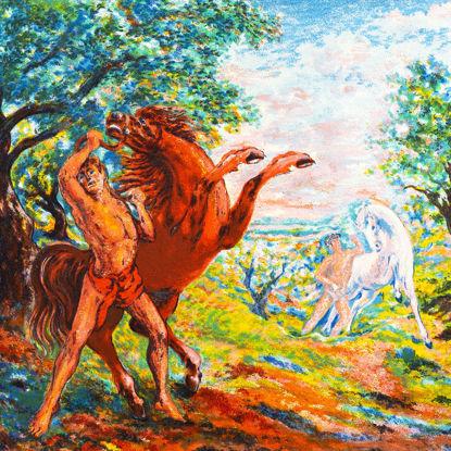 Immagine di Diomede domatore di cavalli