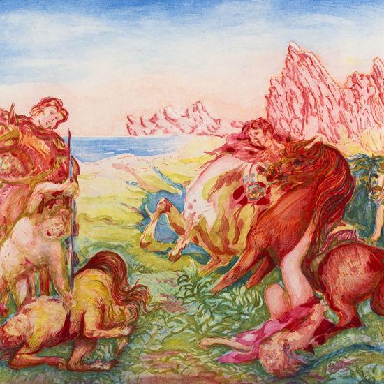 Immagine di La morte del centauro