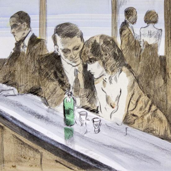 Immagine di Coppia al bar