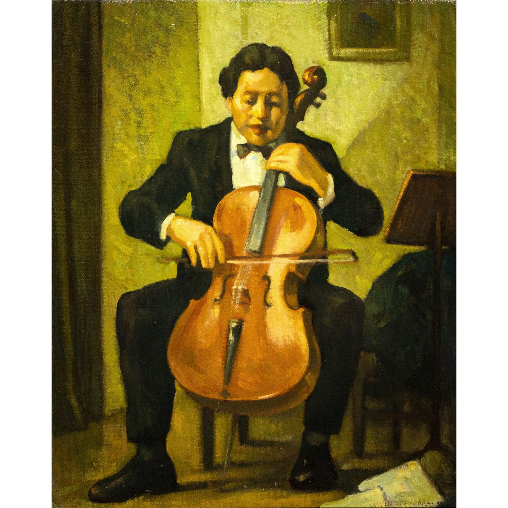 Immagine di Il violoncellista