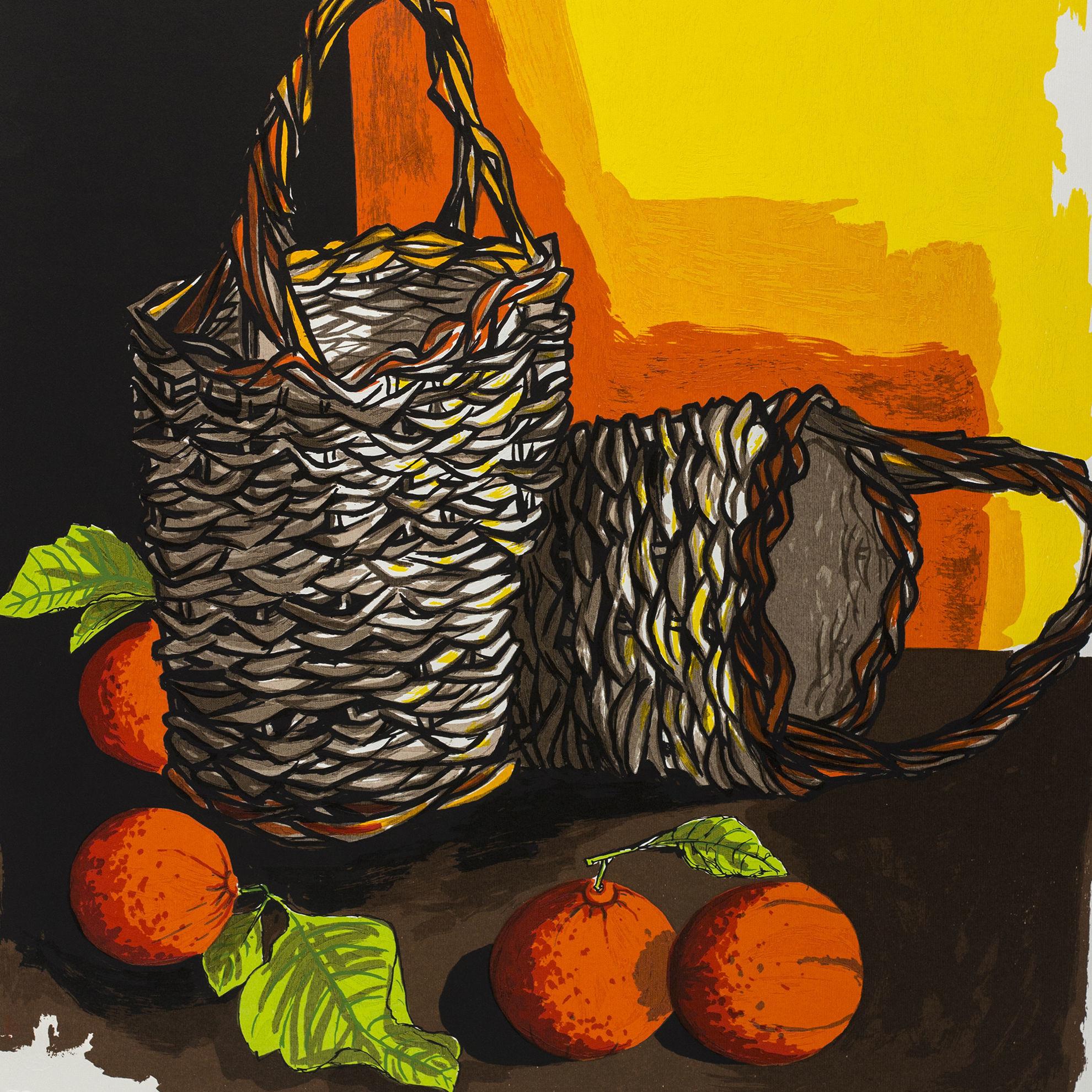 Immagine di Cesti e arance