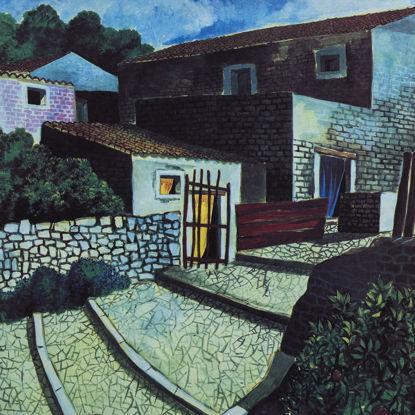Immagine di Paesaggio rustico (serigrafia)