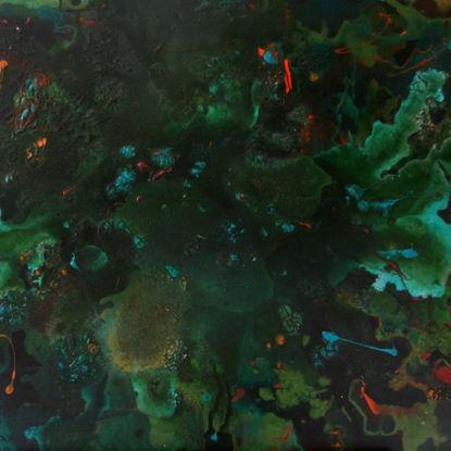 Immagine di Palude - Quadro astratto