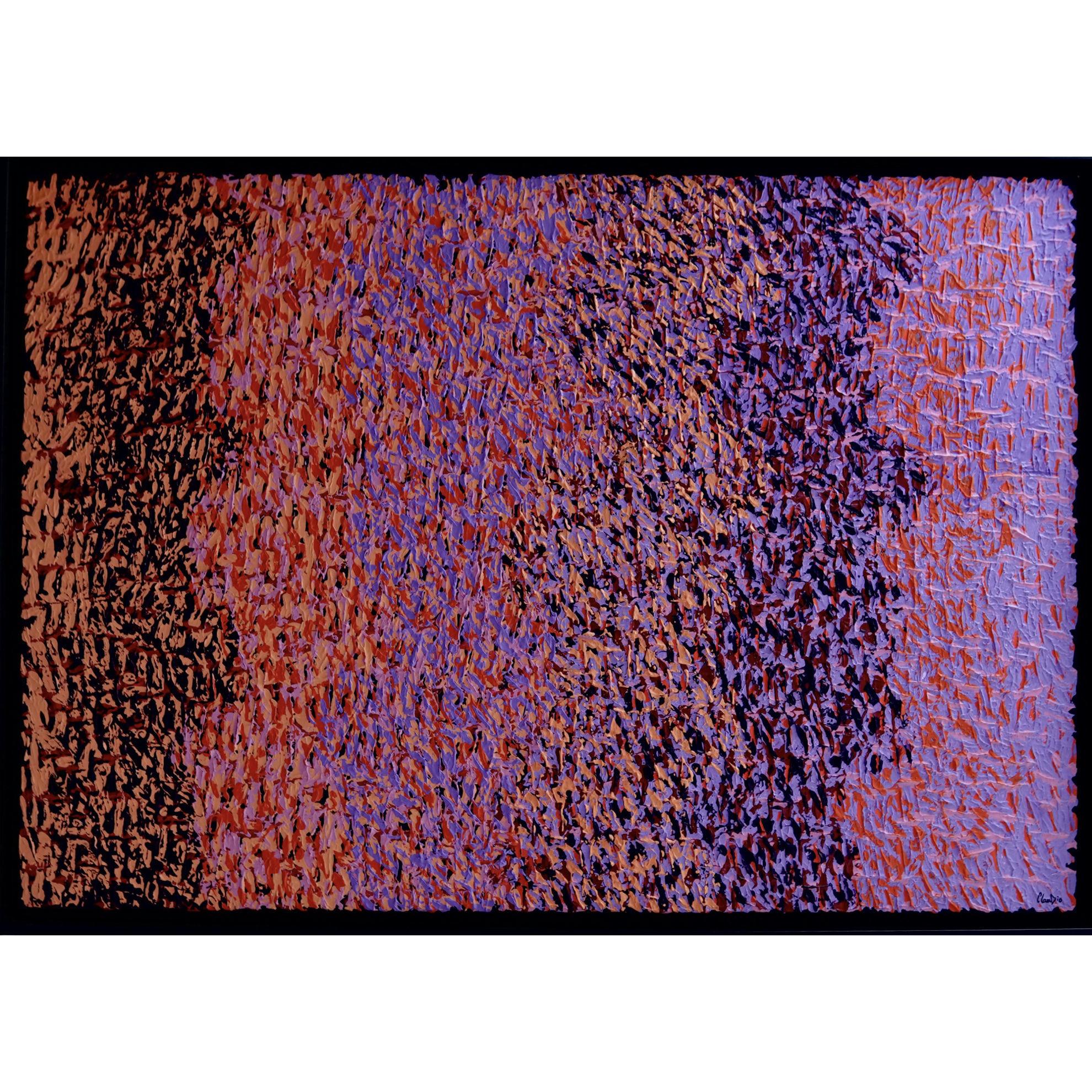 Immagine di It's actually pink - Quadro astratto