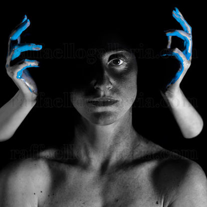 Immagine di Liquid-A #16 Light Blue Hands