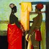 Immagine di Bagnanti africane