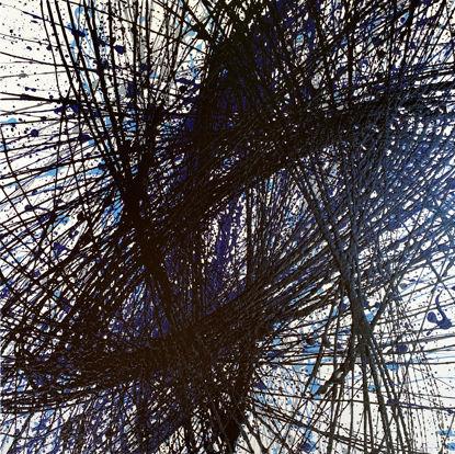 Immagine di Blu - Quadro moderno astratto