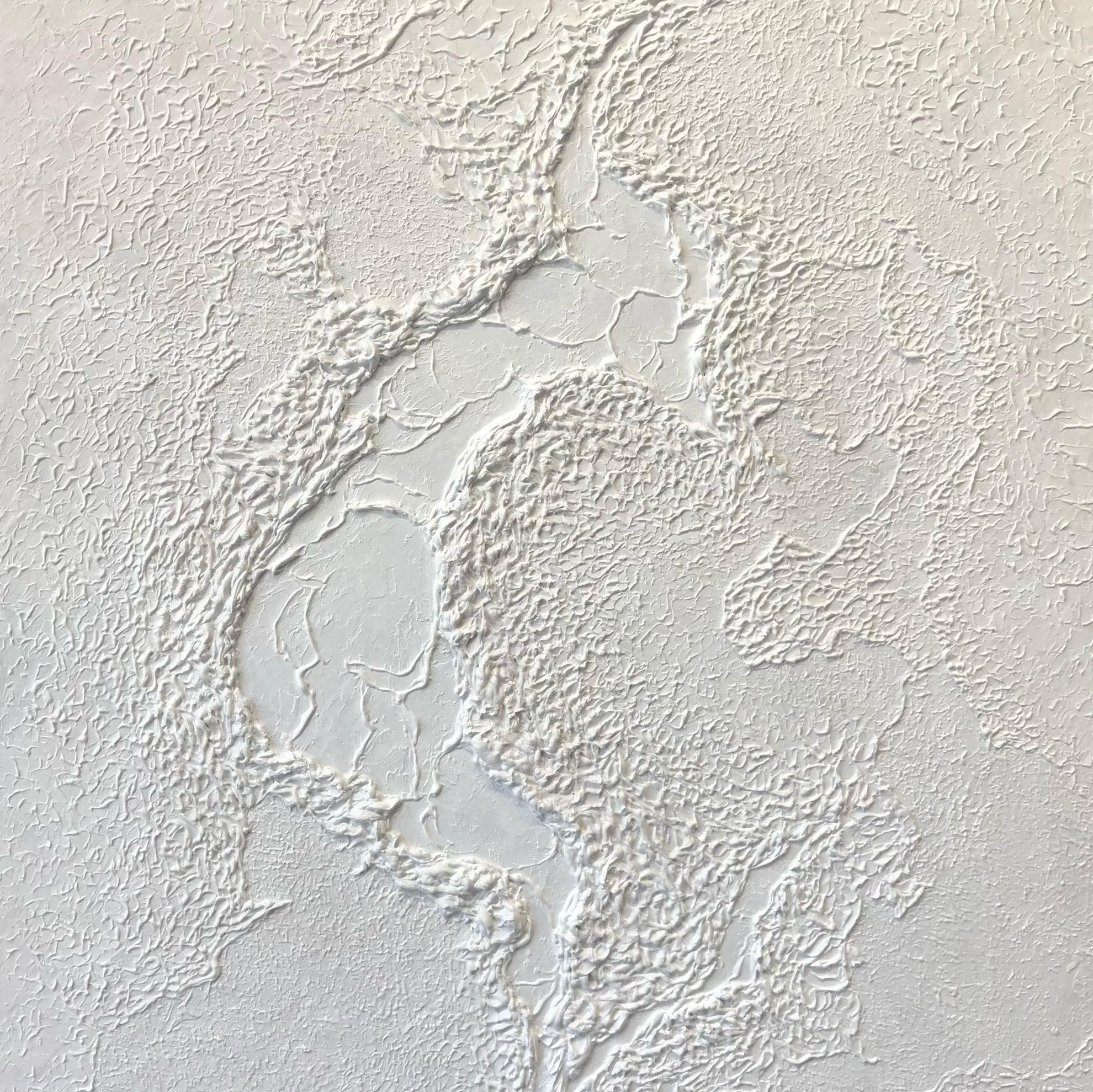 Immagine di Total white 01 - Quadro moderno astratto