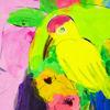 Immagine di Donna con canarino