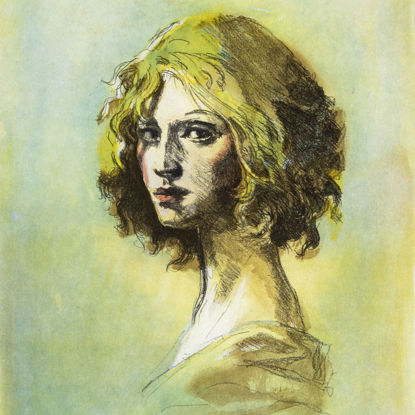 Immagine di Testa femminile