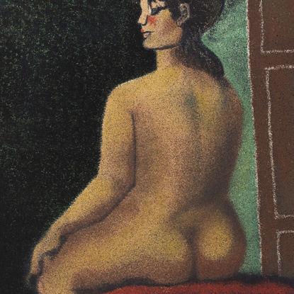 Immagine di Nudo seduto