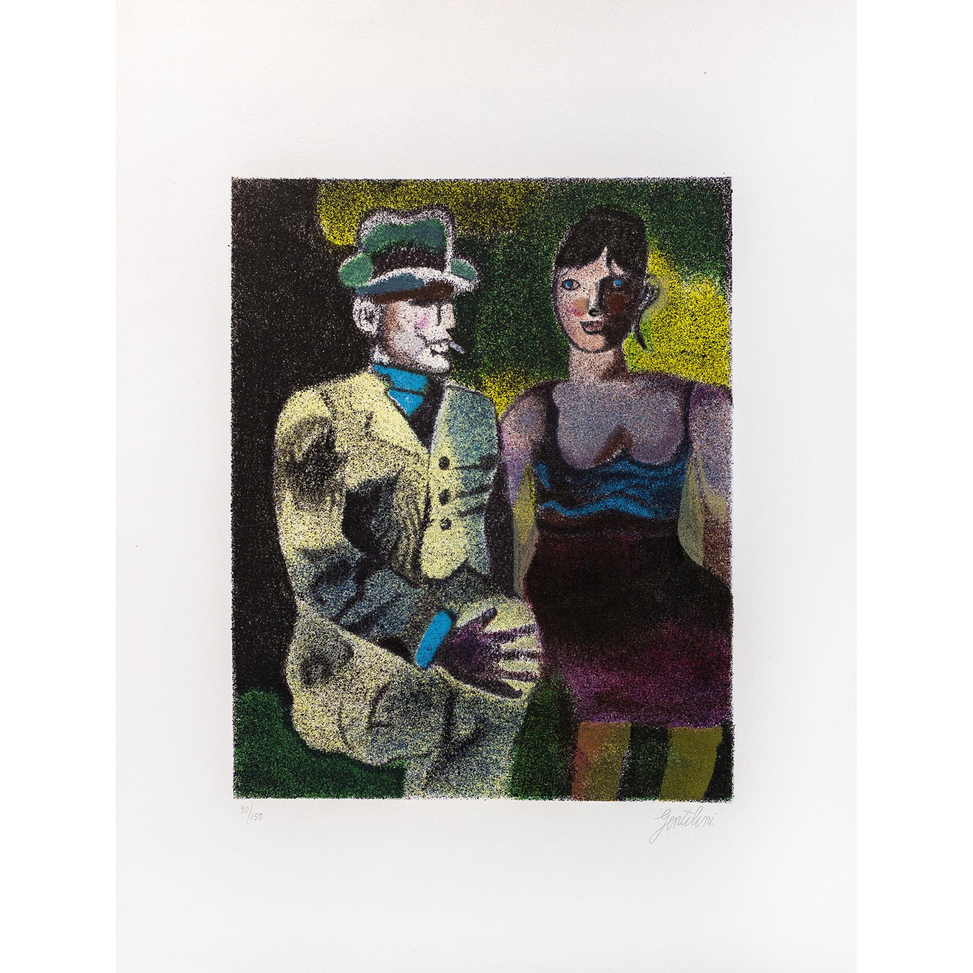 Immagine di Luisa e Ippolito sul tramwai