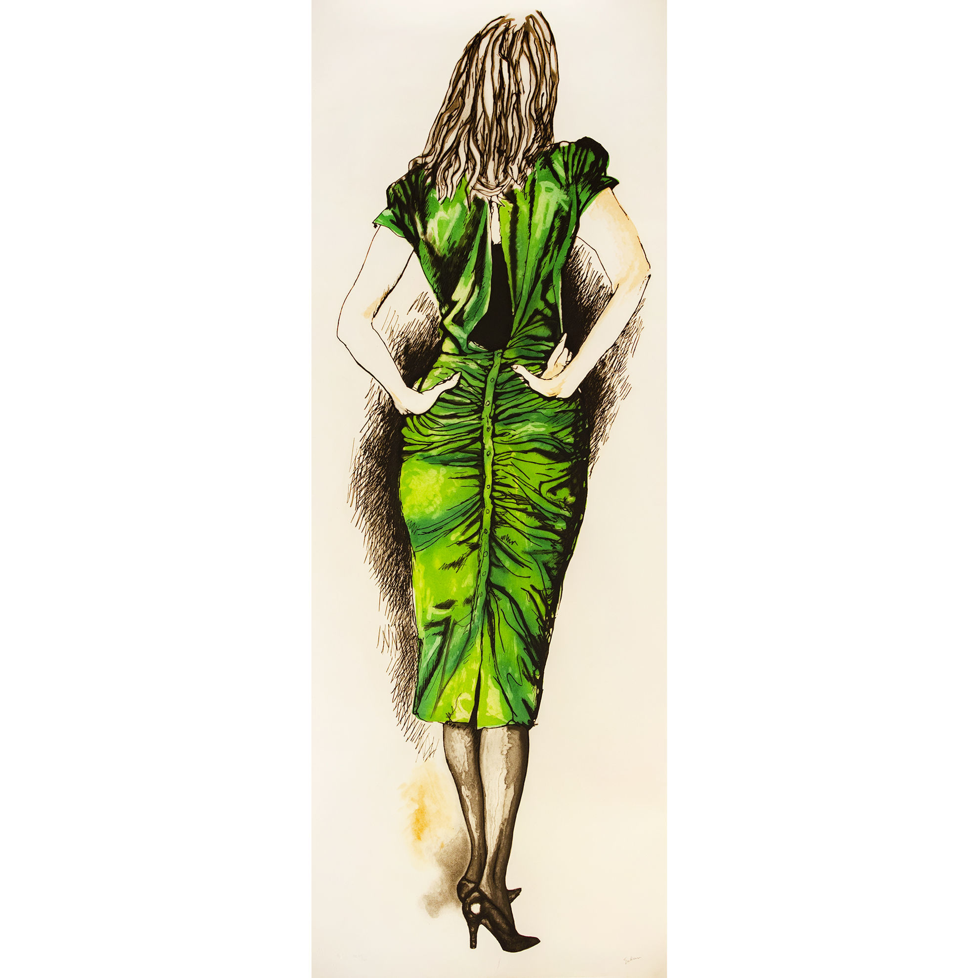 Immagine di Tre donne (verde)