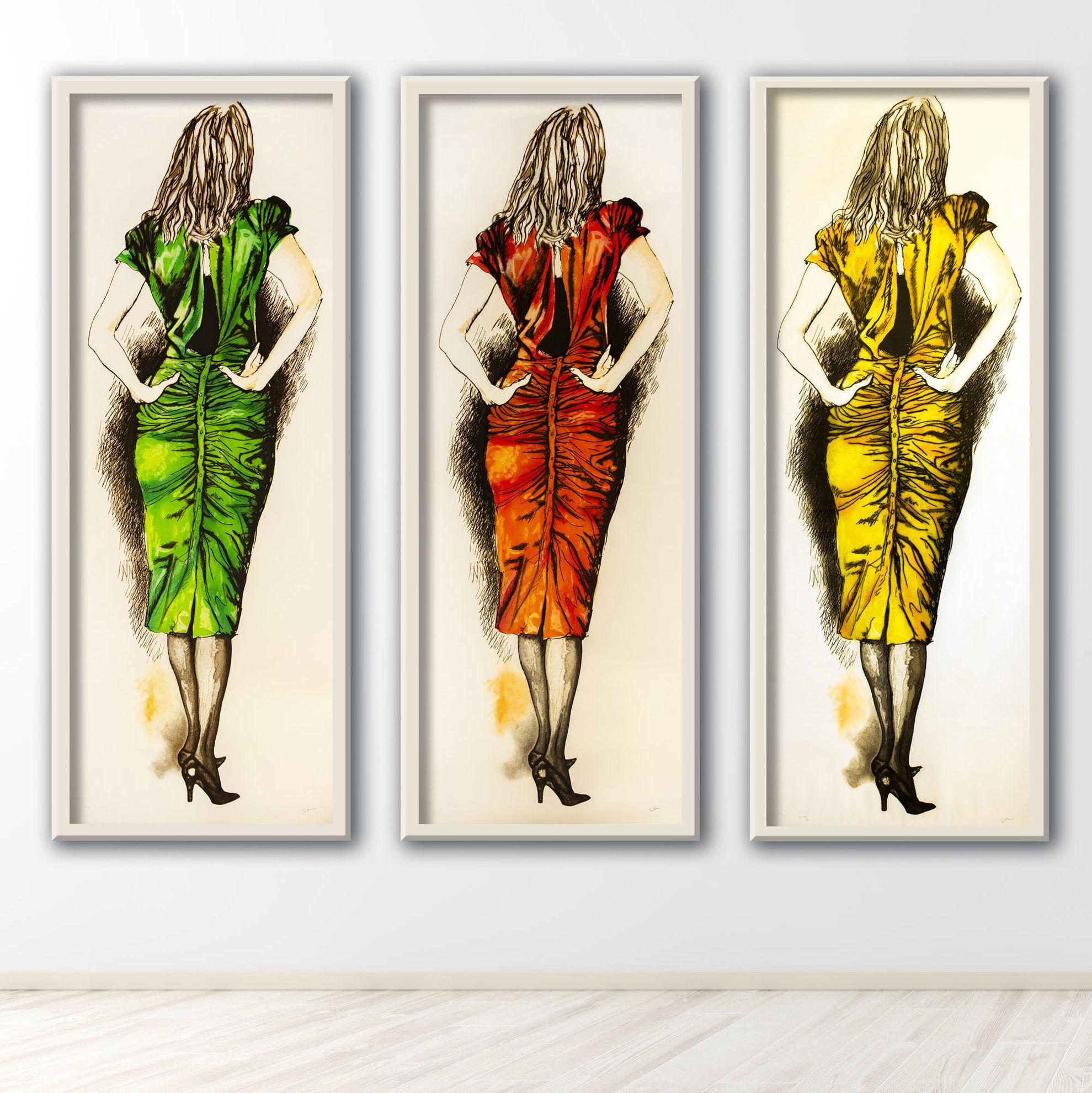 Immagine di Tre donne (rosso)