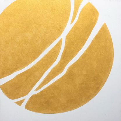 Immagine di Sole e terra - Quadro moderno astratto