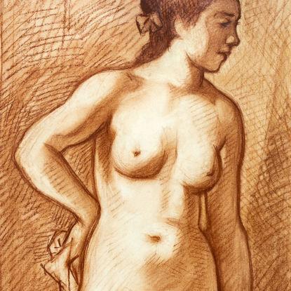 Immagine di Nudo in piedi