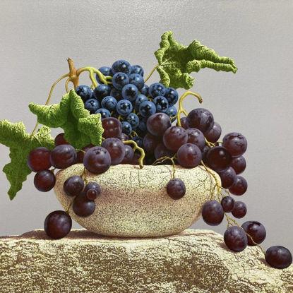 Immagine di Natura morta con uva