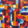 Immagine di Incroci 01  - Quadro moderno astratto