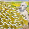 Immagine di Dedalo progetta il labirinto
