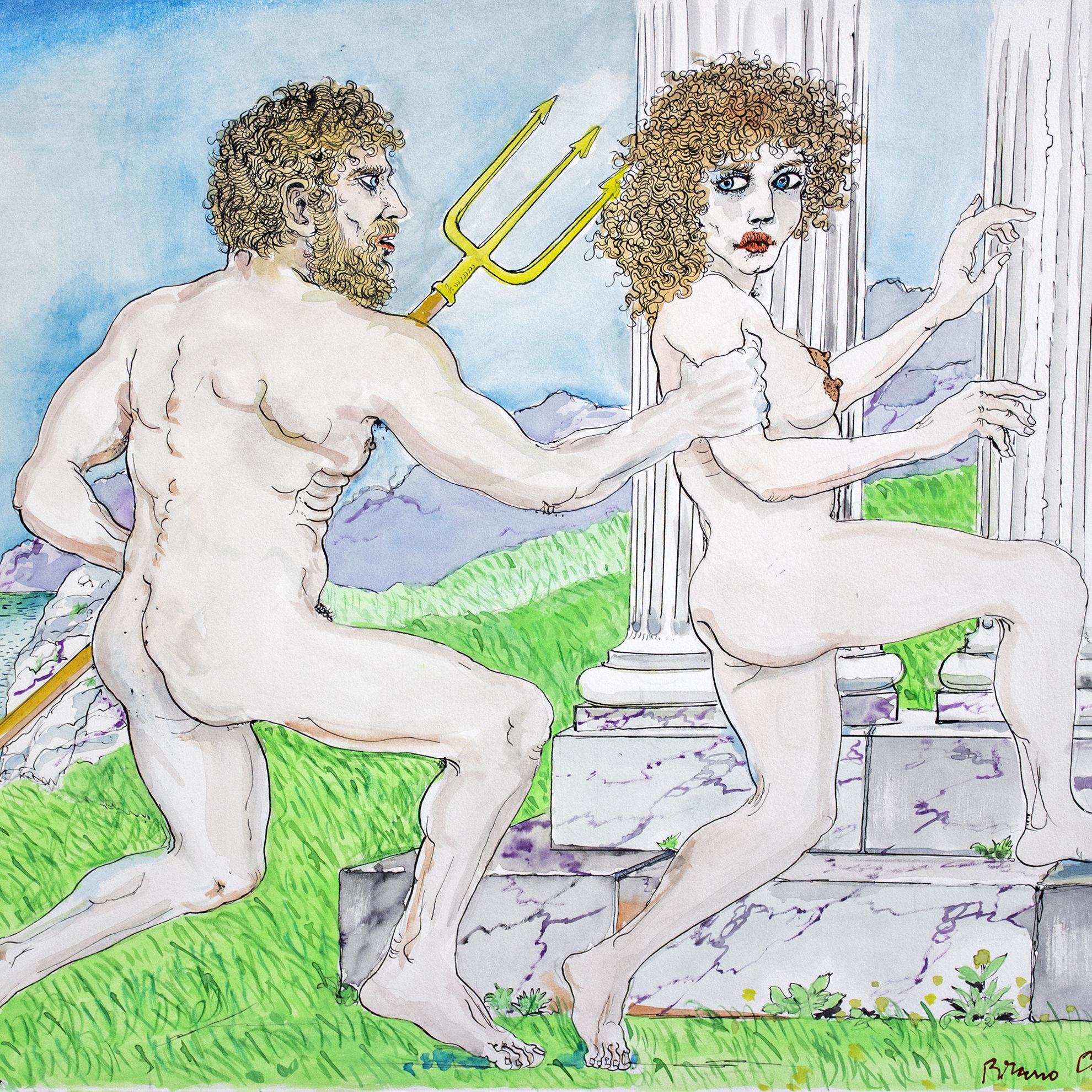 Immagine di Poseidone insidia Medusa