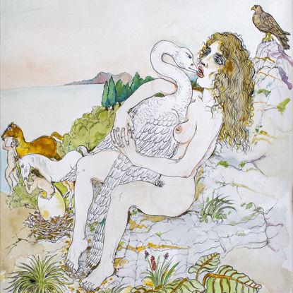 Immagine di Leda e il cigno