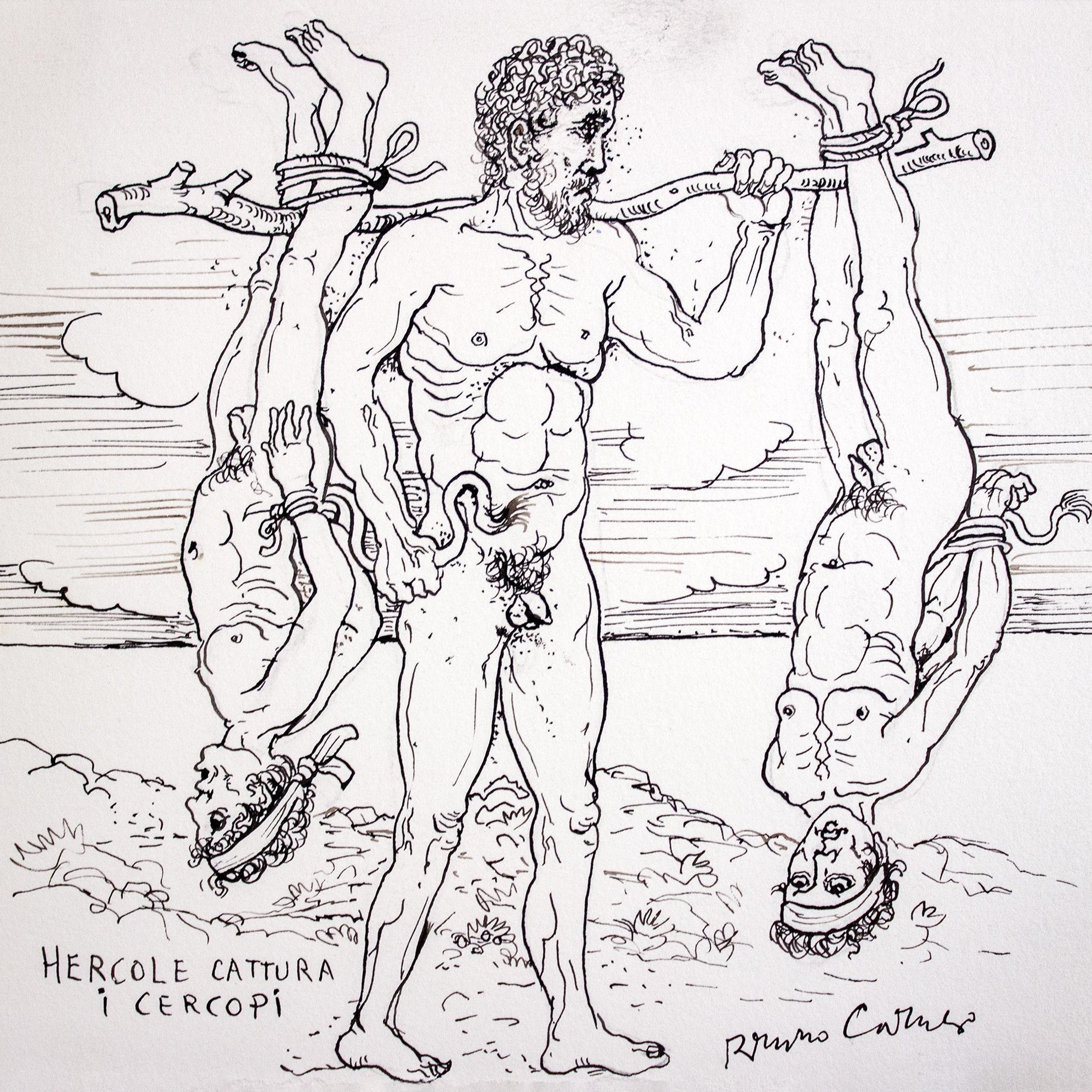 Immagine di Ercole cattura i Cercopi
