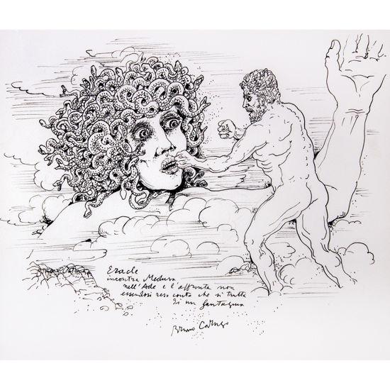 Immagine di Eracle incontra Medusa nell'Ade