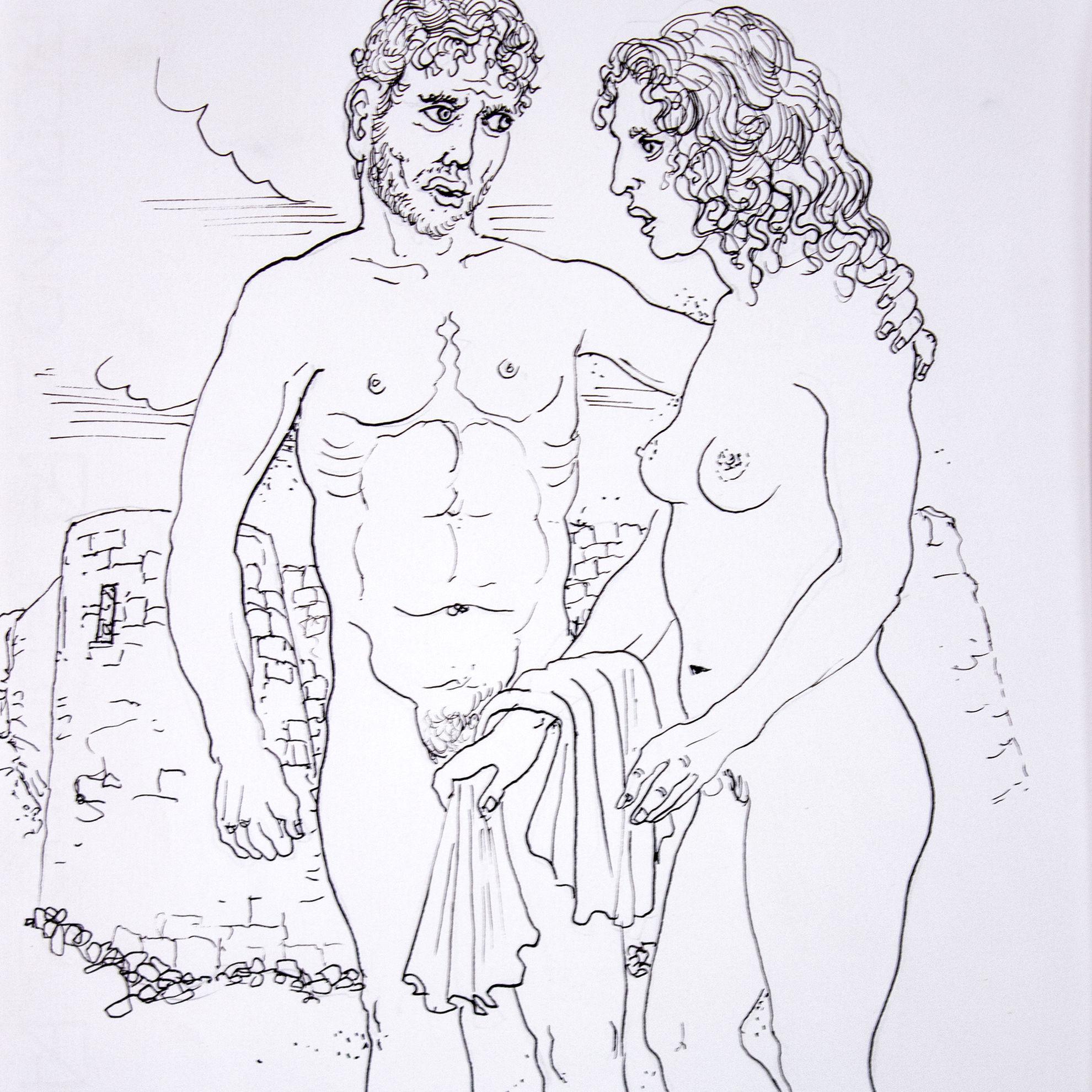 Immagine di Ettore e Andromaca