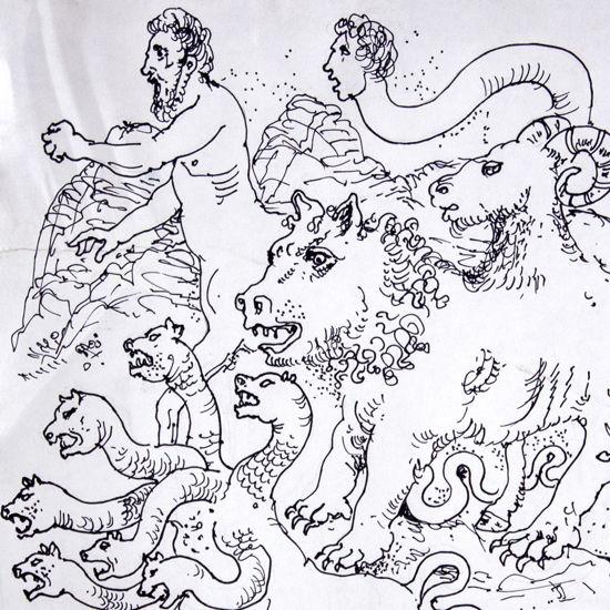 Immagine di Mostri della mitologia