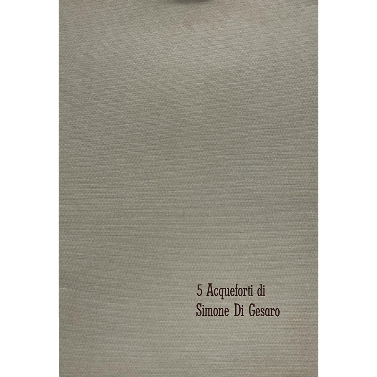 Immagine di Cartella 5 acqueforti