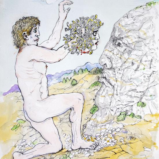 Immagine di Perseo pietrifica Atlante
