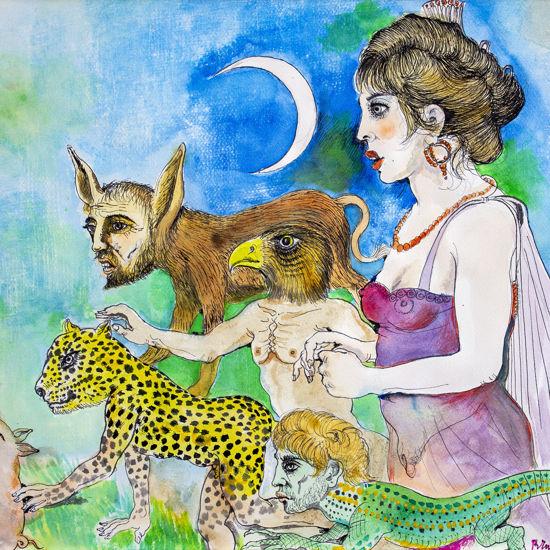 Immagine di La maga circe trasforma in bestie i compagni di Odisseo