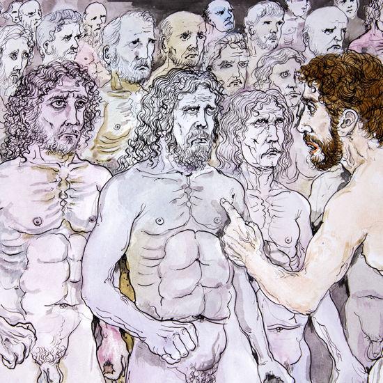 Immagine di Nell'Ade Odisseo riconosce Achille e Agamennone