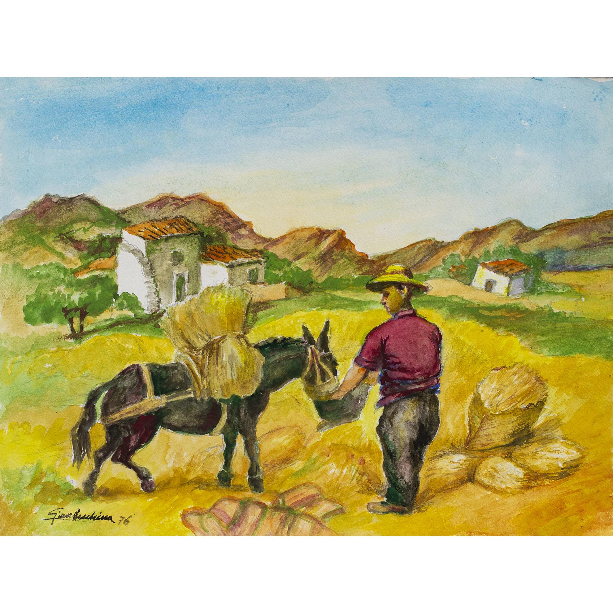 Immagine di U zu Ntonio e il suo asinello