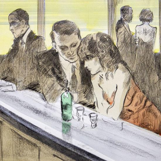 Immagine di Coppia al bar II