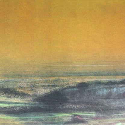 Immagine di Paesaggio prima del tramonto