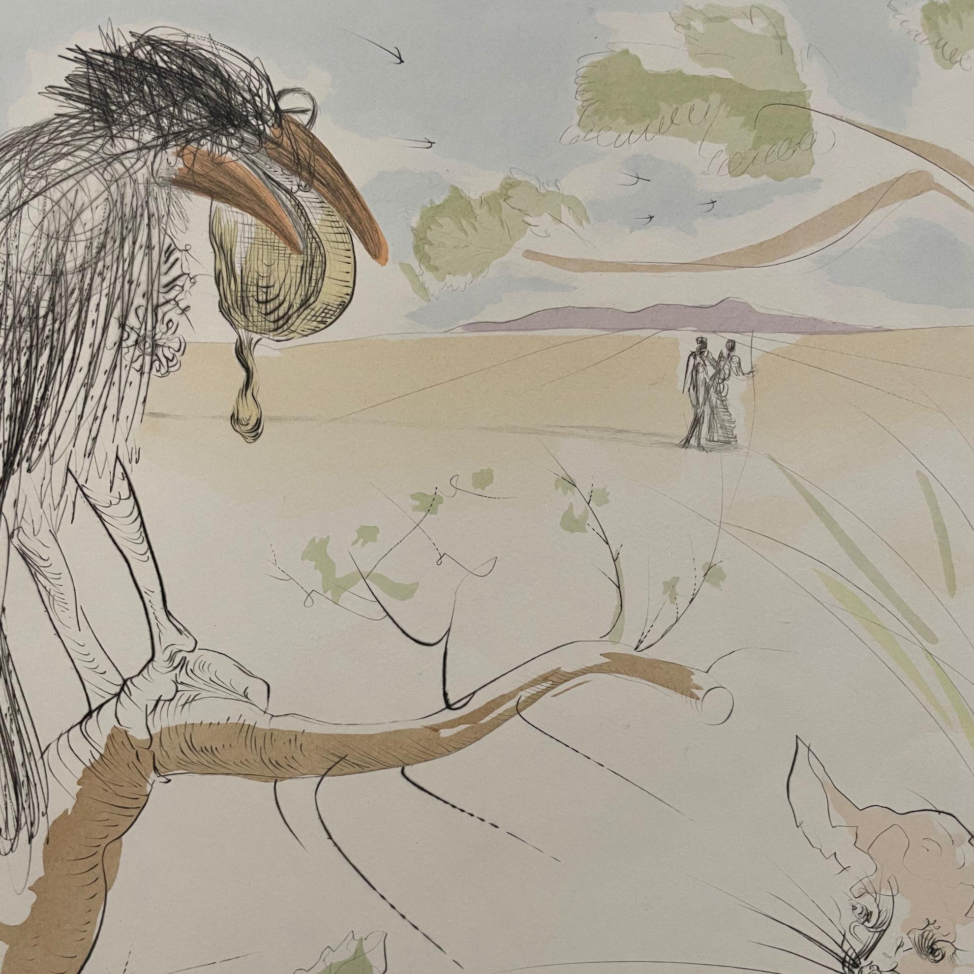 Immagine di Le corbeau et le renard
