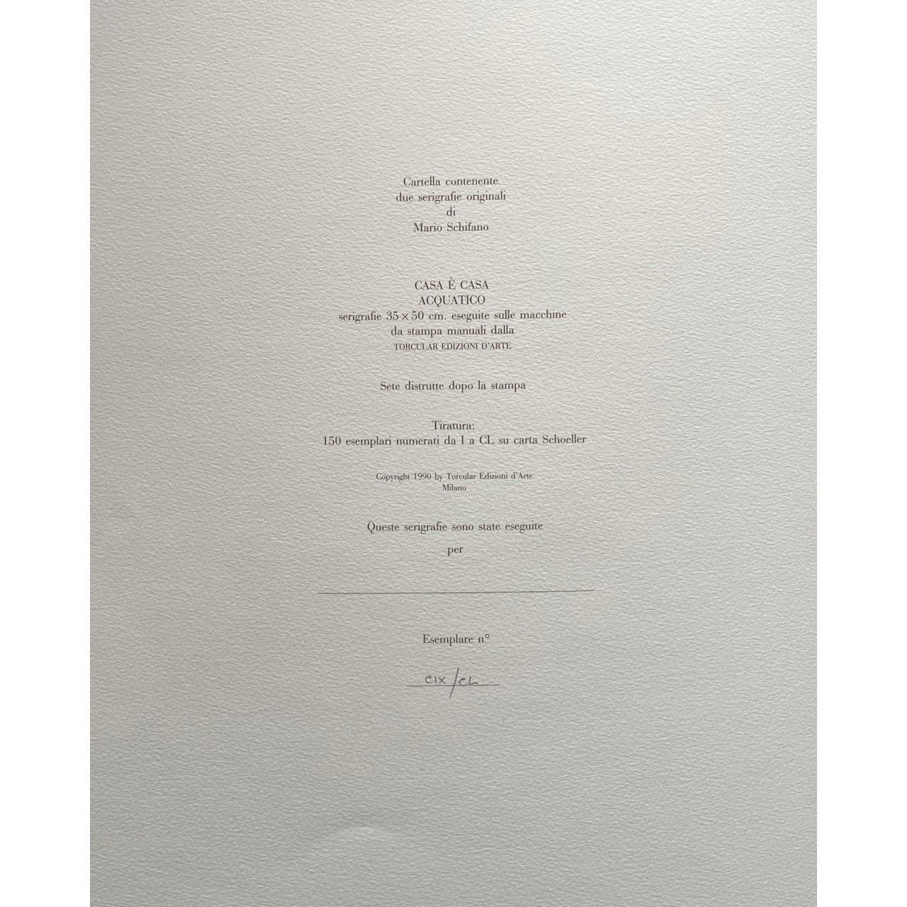 Immagine di Cartella di due serigrafie